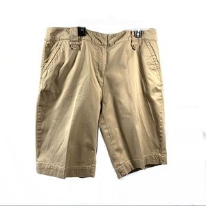 Just My Size Bermuda Hiking Shorts Sz 16W Khaki